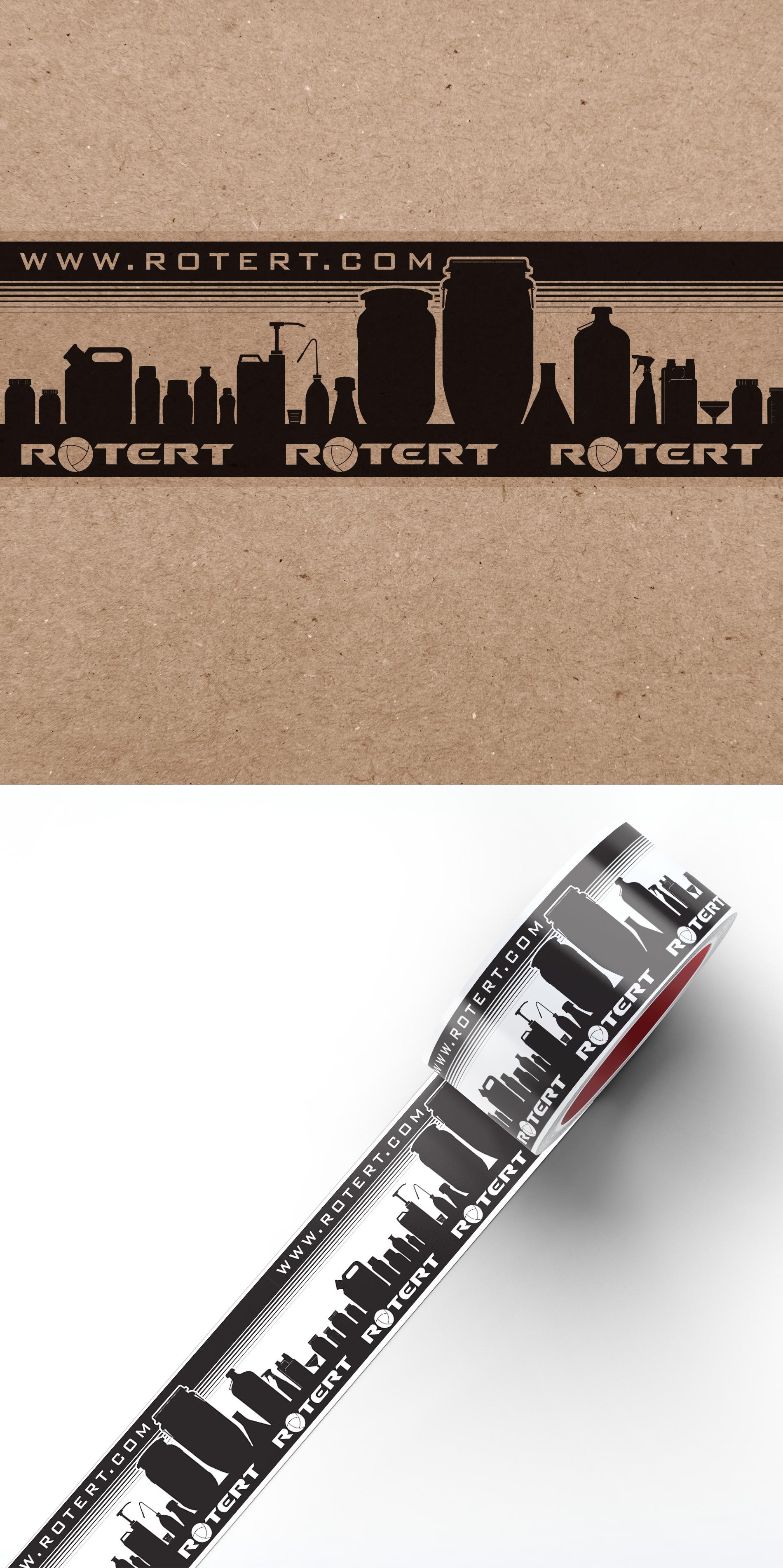 ROTERT.com braucht ein Design für auffälliges Verpackungsklebeband