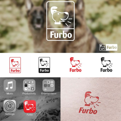 Design a modern, sophisticated logo for a smart pet tech brand