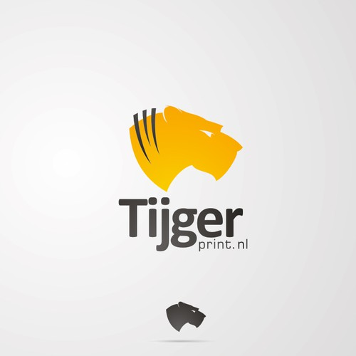 Tiger Print Logo   (high end fashion brand)