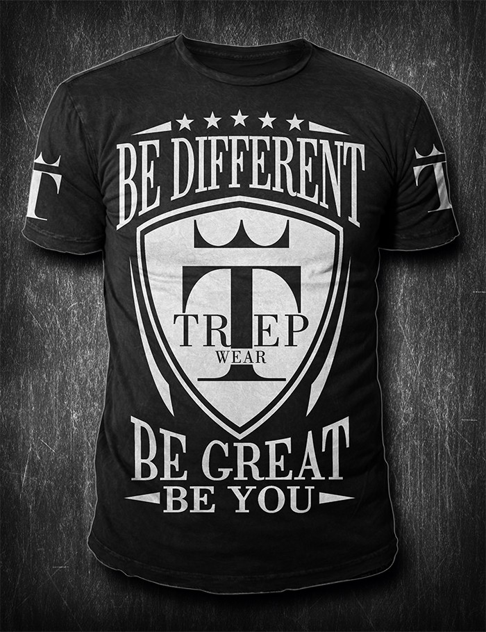 """T-Shirt Design Needed For Clothing Brand """"Trep Wear"""". 20+ Designs Needed Every Year!"""