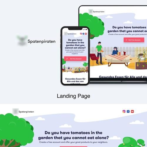 SpatenPiraten Landing Page