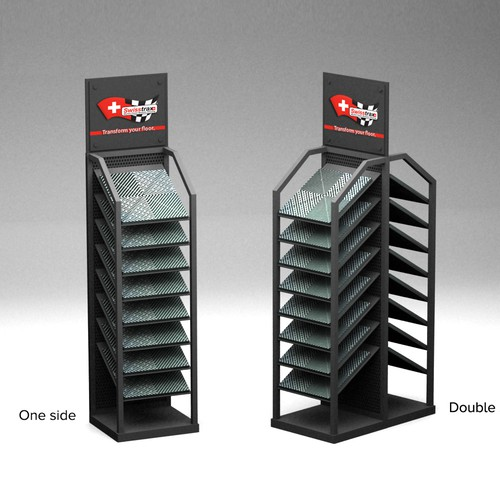 Title display stand for Swisstrax