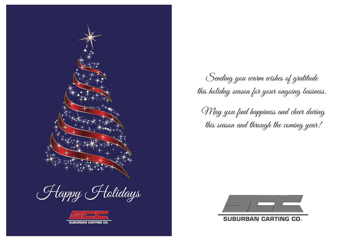 3 Versions of a Holiday Card
