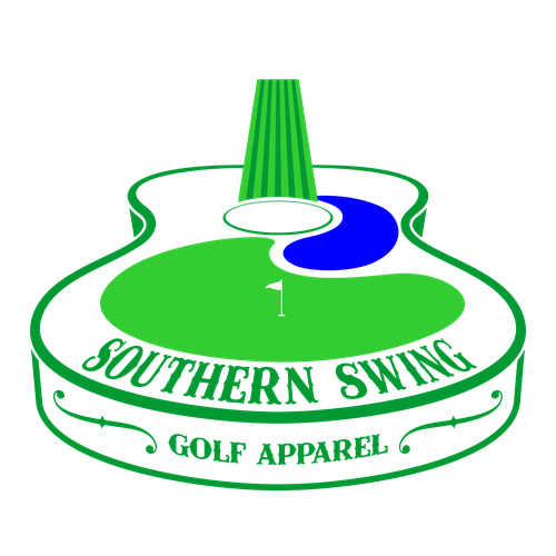 Create a logo for Southern-style golf apparel