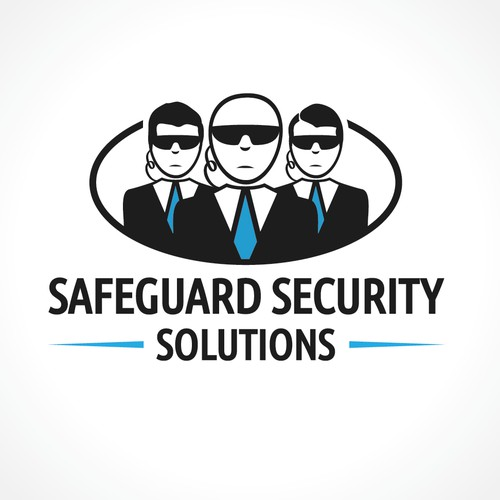 Logo for security company.