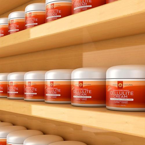 Cellulite Cream 3D Image