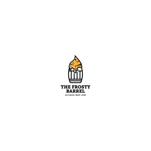 Logo Concept for The Frosty Barrel