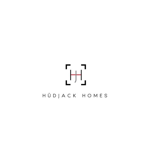 Minimalist logo for an architect