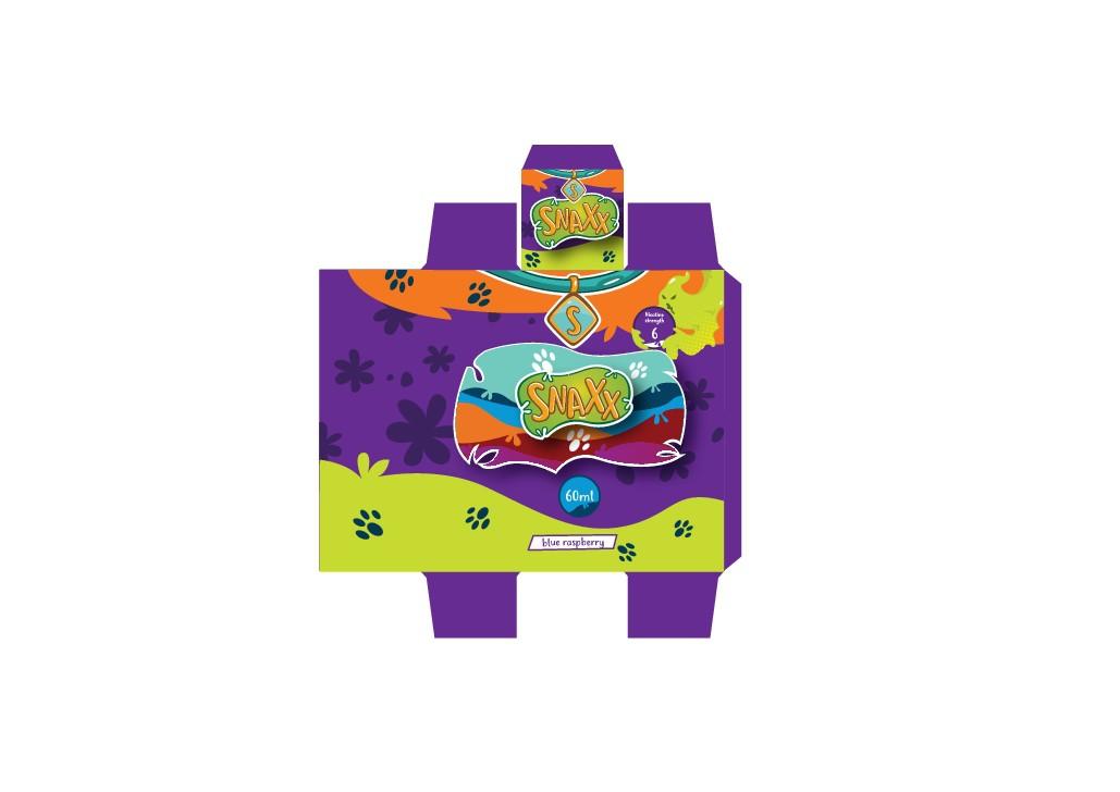 Scooby Doo themed Eliquid Label Design
