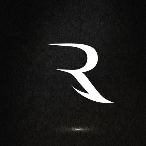 Letter R concept