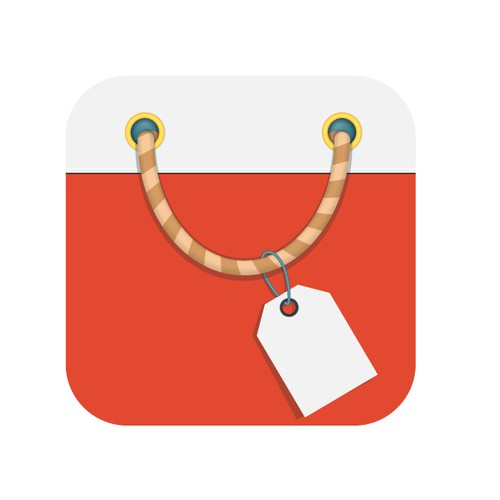 iPhone icon for Shopping app