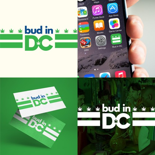 Logo concept for Bud in DC