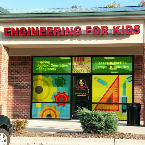 New signage wanted for Engineering for Kids