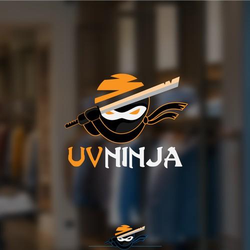 Bold logo for UV Ninja