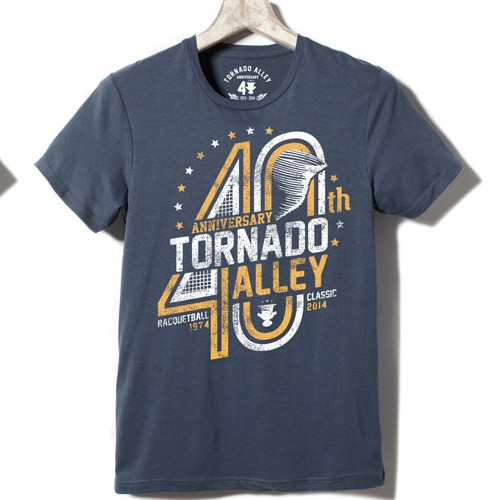 Outstanding tshirt design for longest-running tournament in the USA