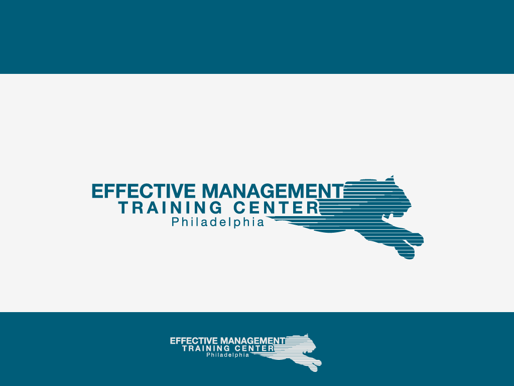 New logo wanted for The Effective Management Training Center of (specified region)