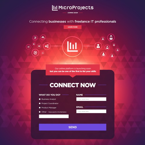 MicroProjects - online freelance platform