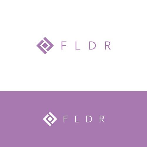 logo concept FLDR