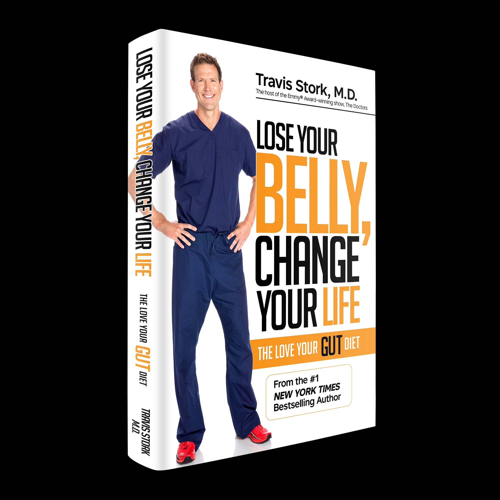 Create a diet book cover for a bestselling author and TV host!