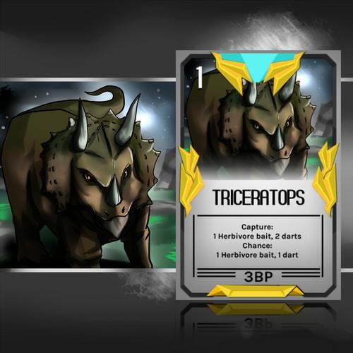 Dinosaur Card Game