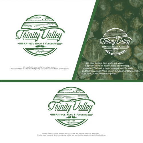 Logo concept for Trinity Valley