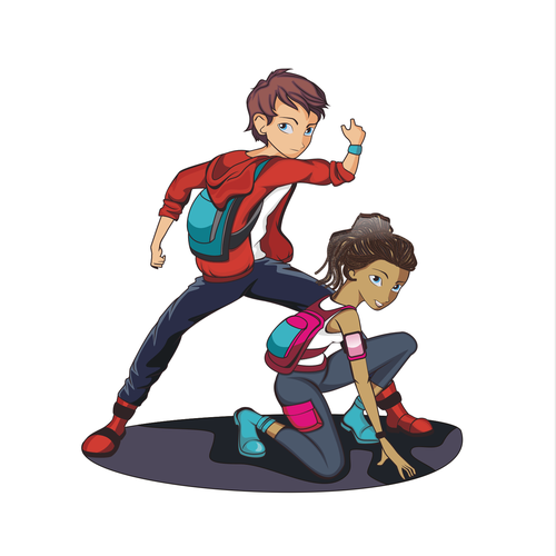 Your Mission: Bring Bright & Adventurous Teen Secret Agents to Life!