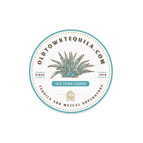 Logo for old town tequila