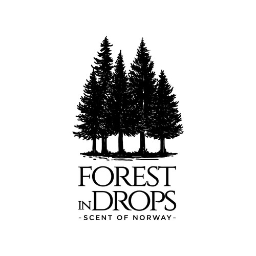 Forest In Drops