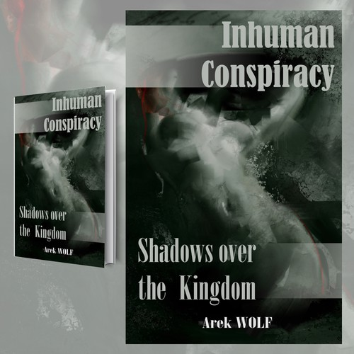 Book cover design - Inhuman Conspiracy