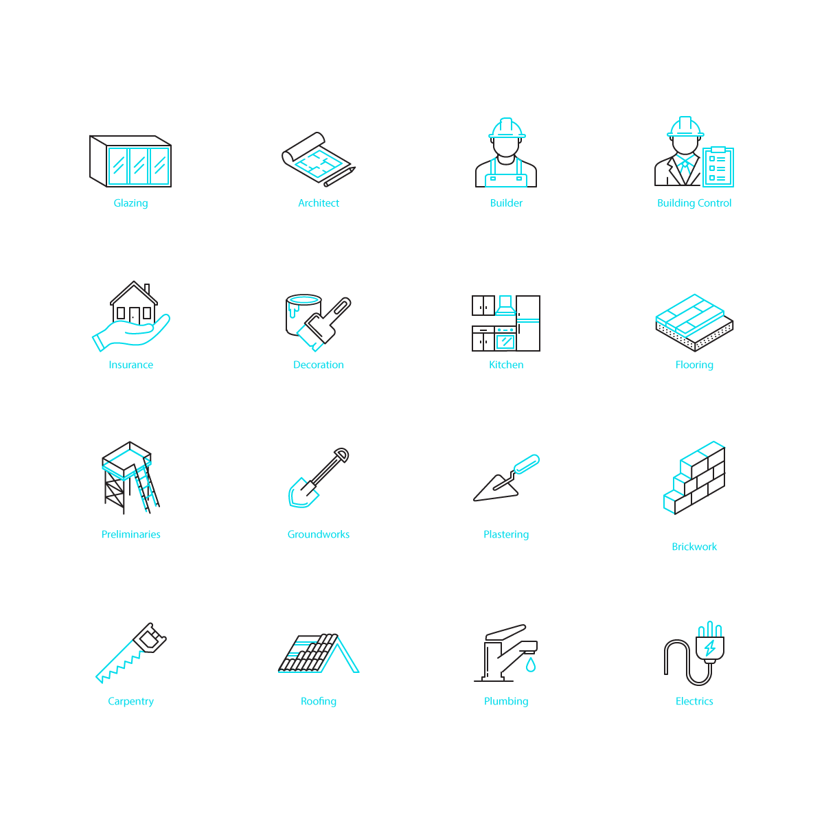 Icons for projectcasa