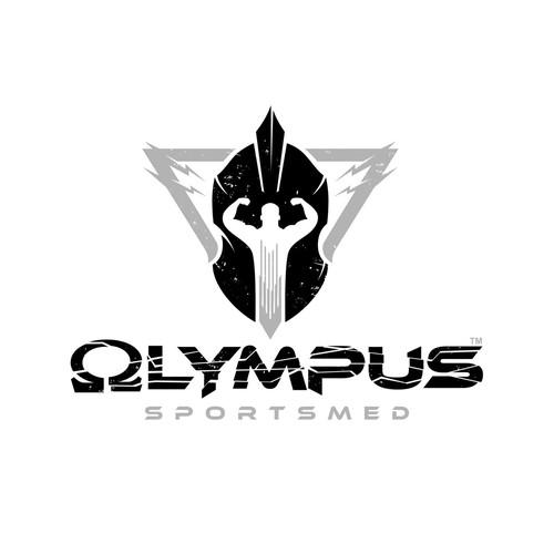 Olympus Fitness Logo Design