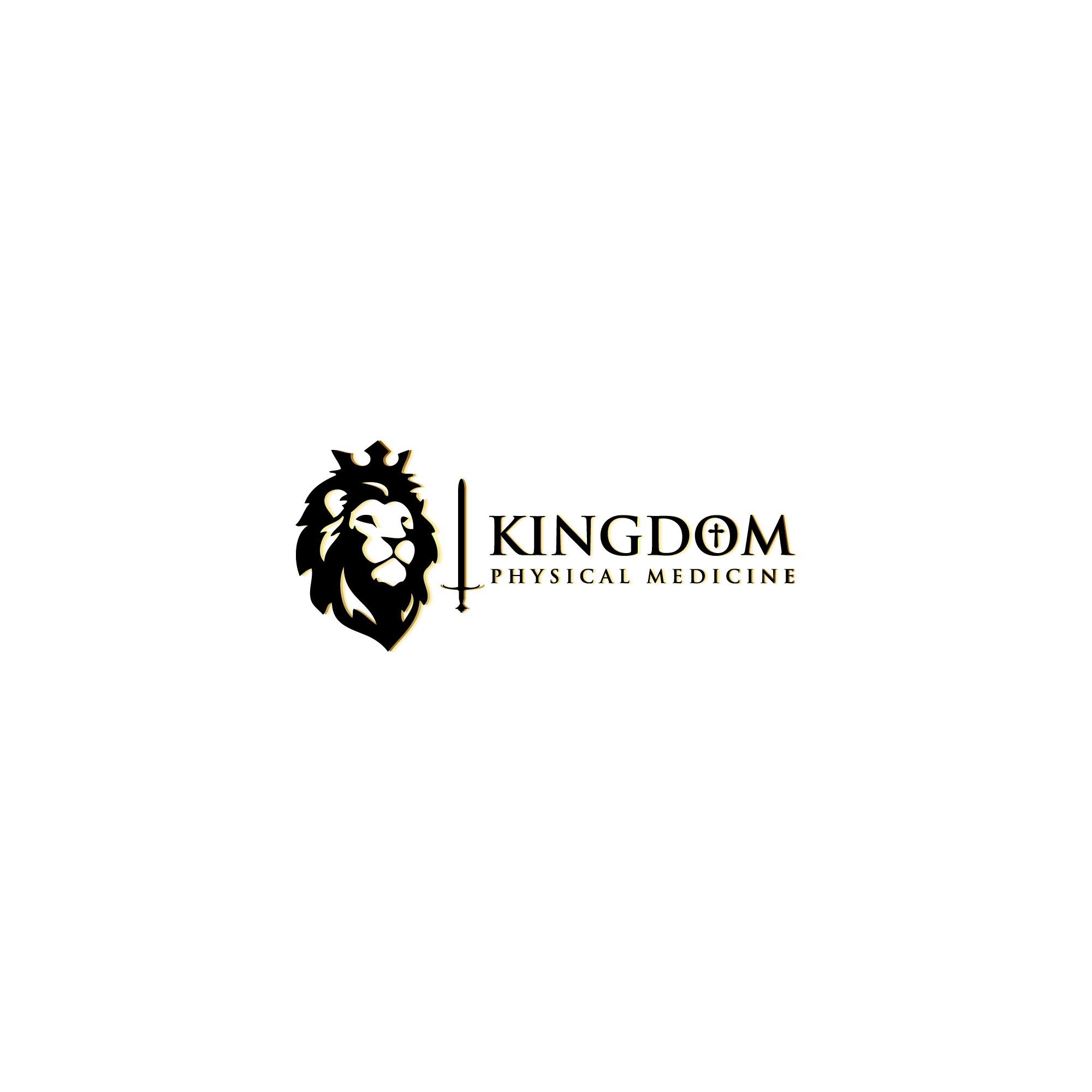 Create a Christ-focused logo for Kingdom Physical Medicine