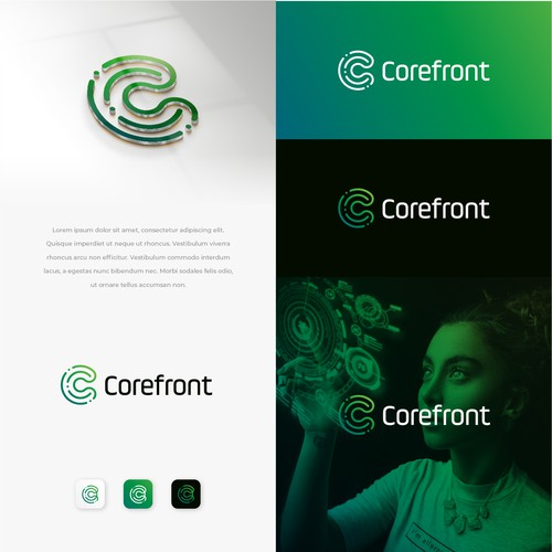design an agency logo (saas customers)