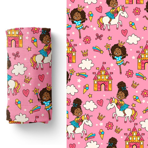 Pattern for little princesses
