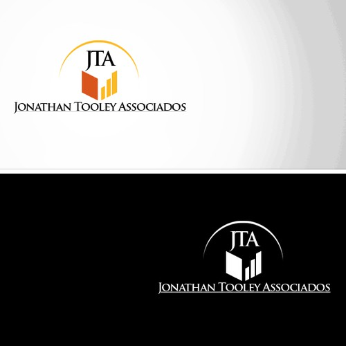 Create the next logo for JTA or Jonathan Tooley Associados