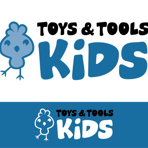 Help Toys and tools Kids  with a new logo