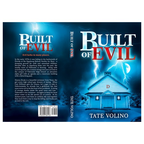 """Book cover for """"Built of Evil"""""""
