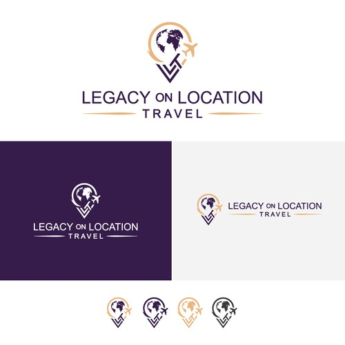 Logo for Legacy on Location Travel