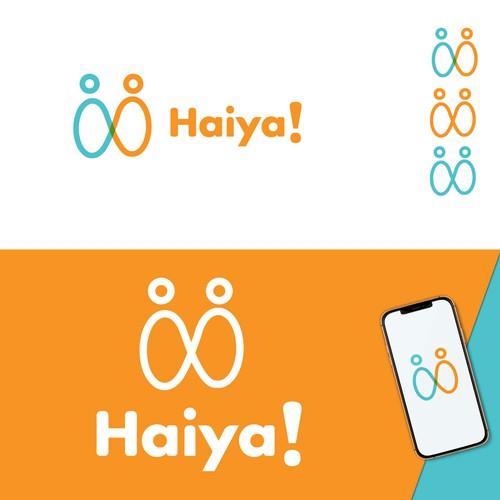 Modern logo ( Haiya)