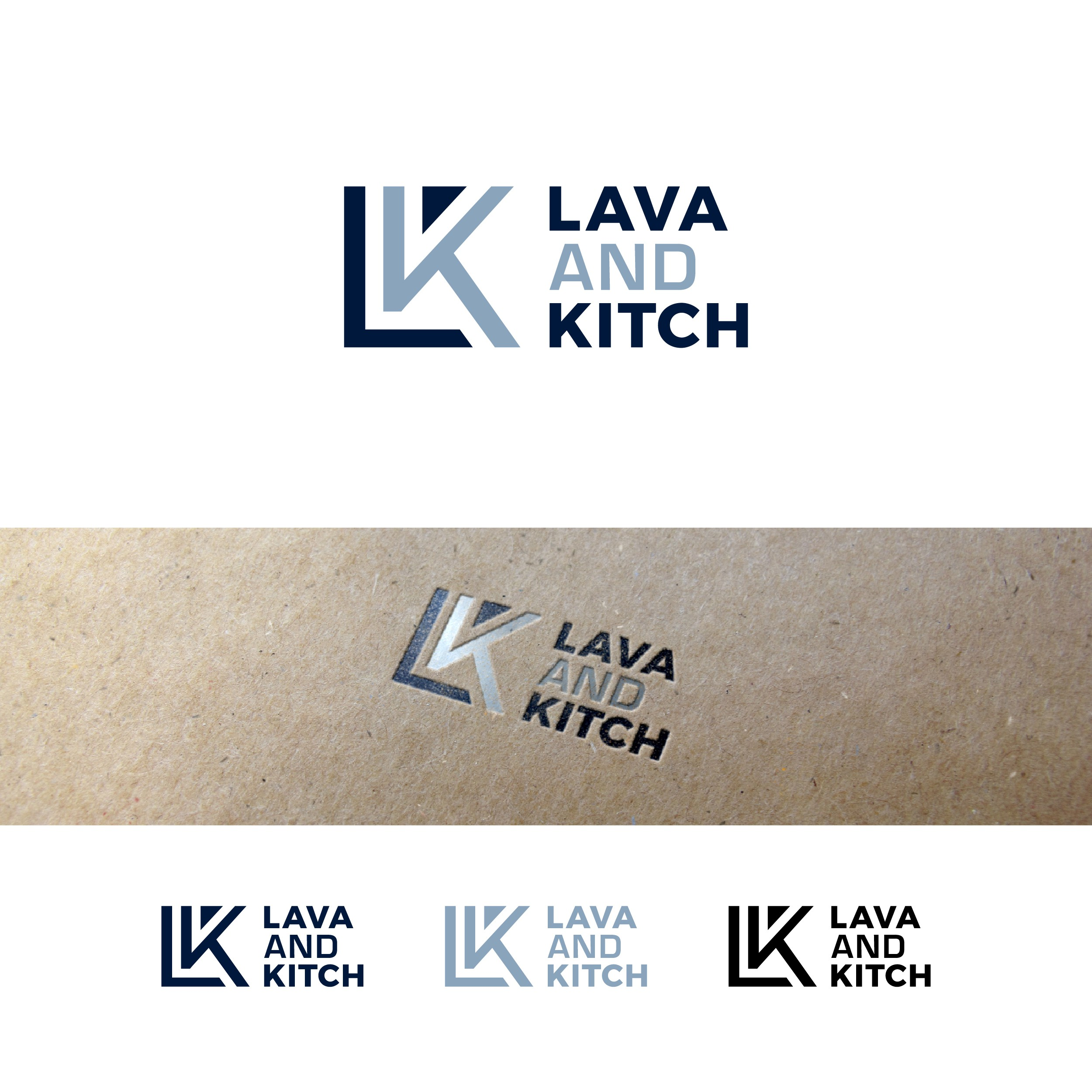 Logo for kitchen and bathroom brand