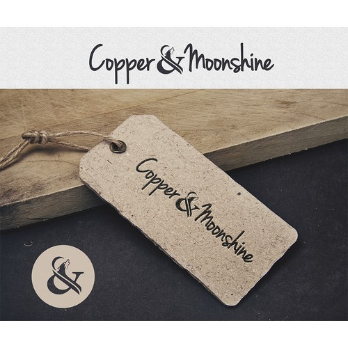 Create my logo -- Copper & Moonshine
