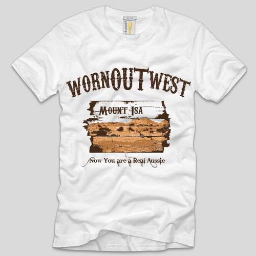 T Shirt Design - Western/Country Retail Store