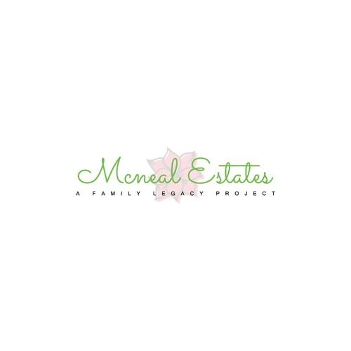 Logo concept for Mcneal Estates