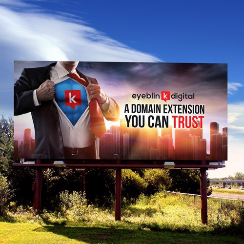 Bold Powerful Billboard