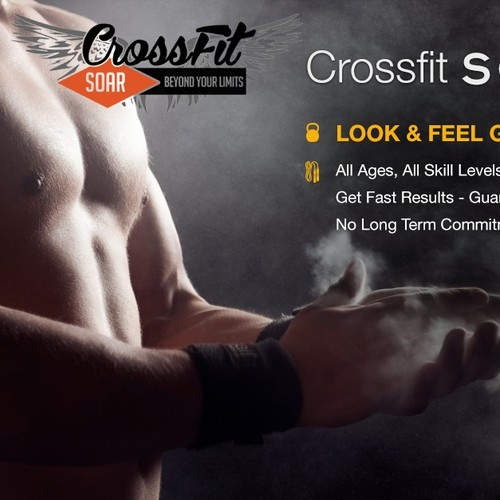 CrossFit SOAR Facebook Banner Ad