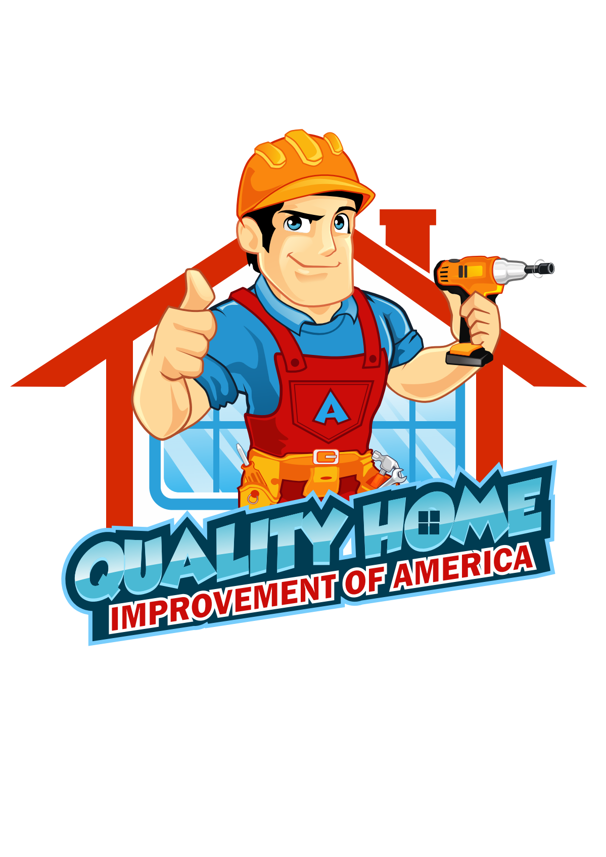 quality air logo home improvement
