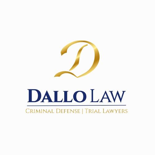 Dallo Law, Attorney & Law, Creative Handmade Logo
