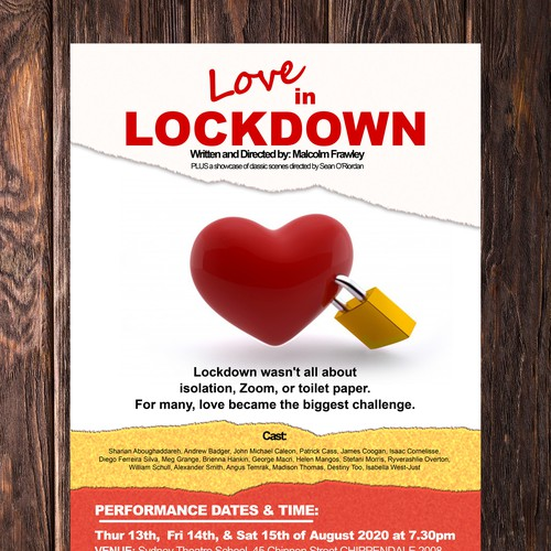 Love During Lockdown Poster