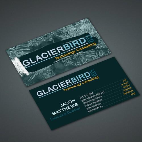 Stationery for Glacierbird Ltd.