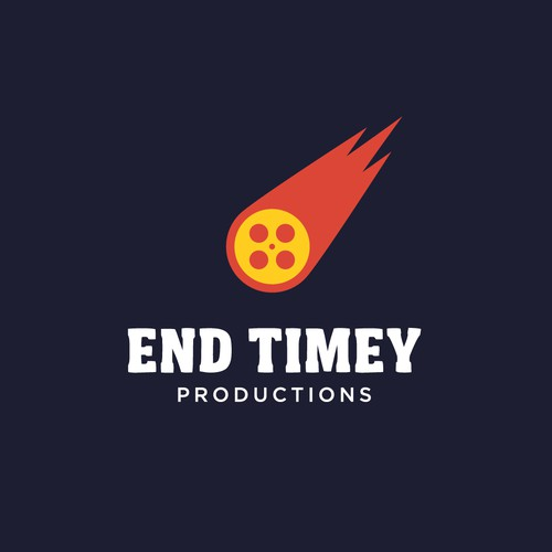 logo for a production company that specializes in satire and the apocalypse